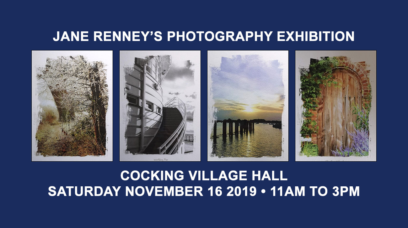 Invitation to Jane Renney's Photography Exhibition