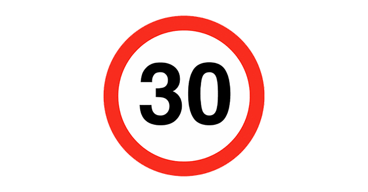 30mph - Bell Lane - Cocking, West Sussex